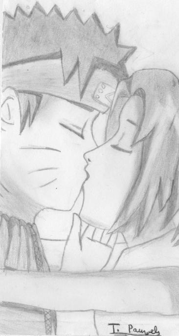 naruto et sakura kiss